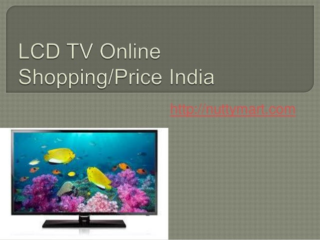Lcd tv online shopping lowest price