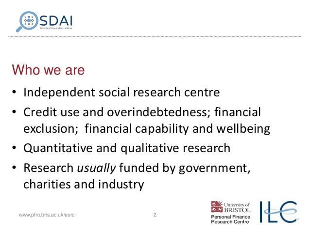 Exploring patterns of expenditure among older people and what explains these Slide 2