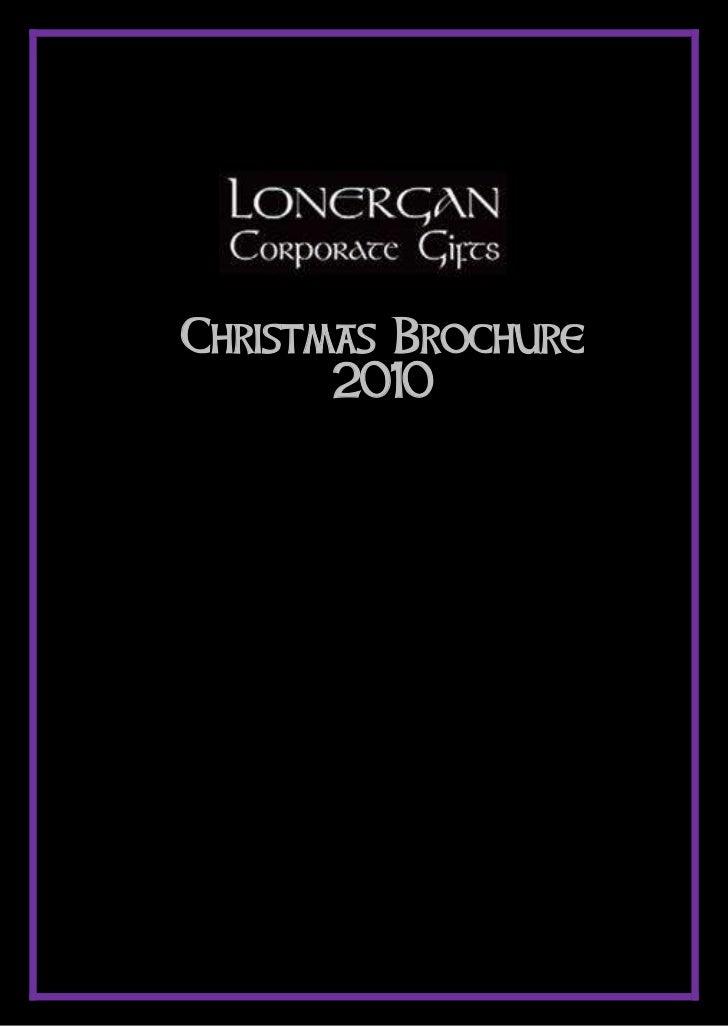 Christmas Brochure       2010