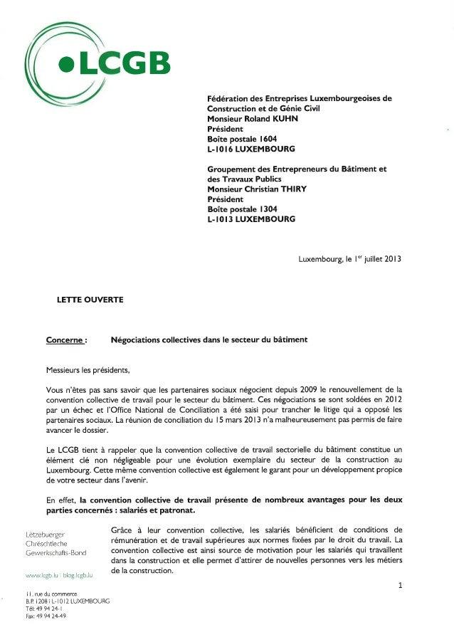 Lcgb lettre ouverte 01 07 2013