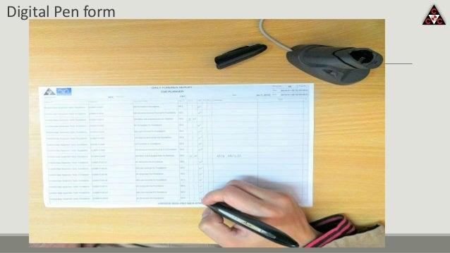 Digital Pen form