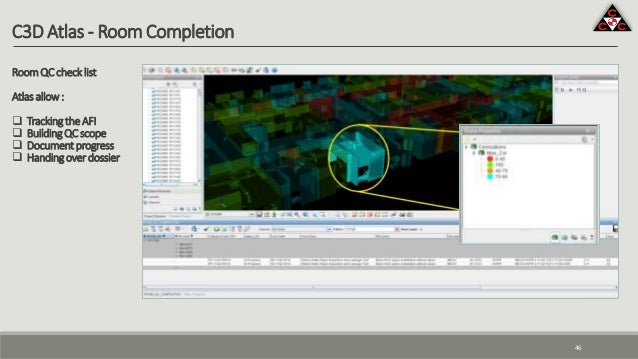C3D Atlas - Room Completion RoomQCchecklist Atlasallow:  TrackingtheAFI  BuildingQCscope  Documentprogress  Handingove...