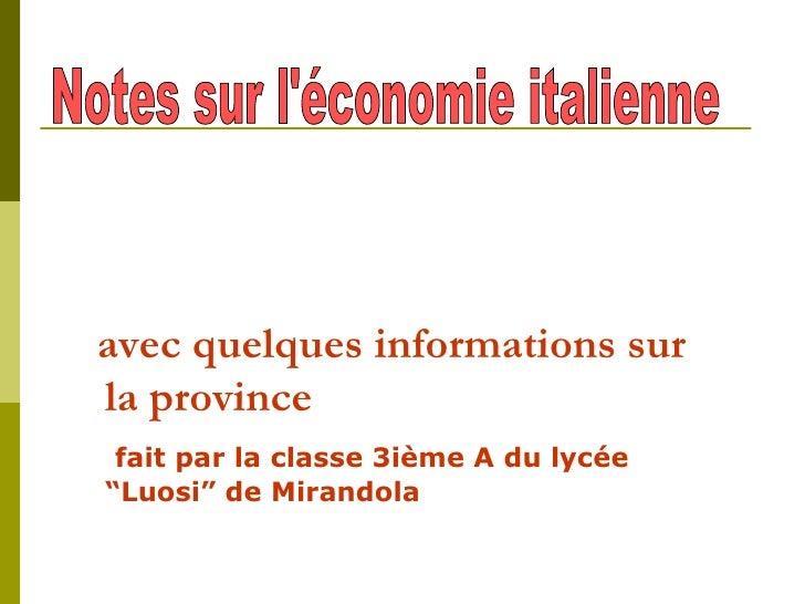 """<ul><li>avec quelques informations sur la province  </li></ul><ul><li>fait par la classe 3ième A du lycée  """"Luosi"""" de Mira..."""