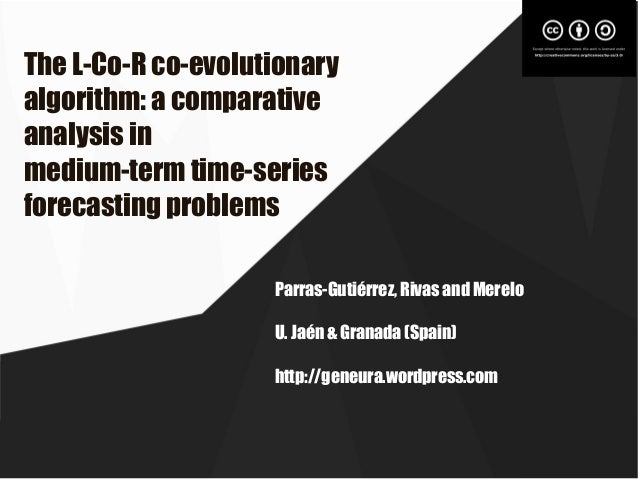 The L-Co-R co-evolutionary algorithm: a comparative analysis in medium-term time-series forecasting problems Parras-Gutiér...
