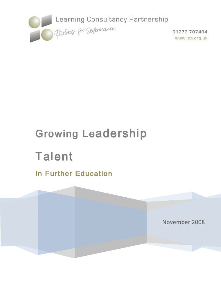Leaders in Further Education