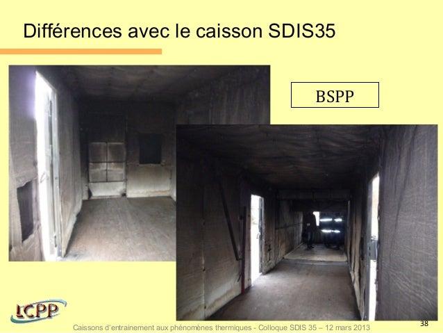 Différences avec le caisson SDIS35                                                                        BSPP            ...