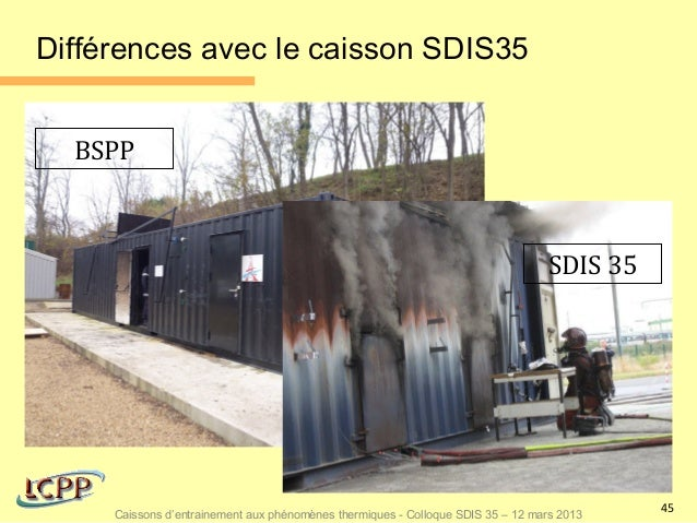 Différences avec le caisson SDIS35  BSPP                                                                                 S...
