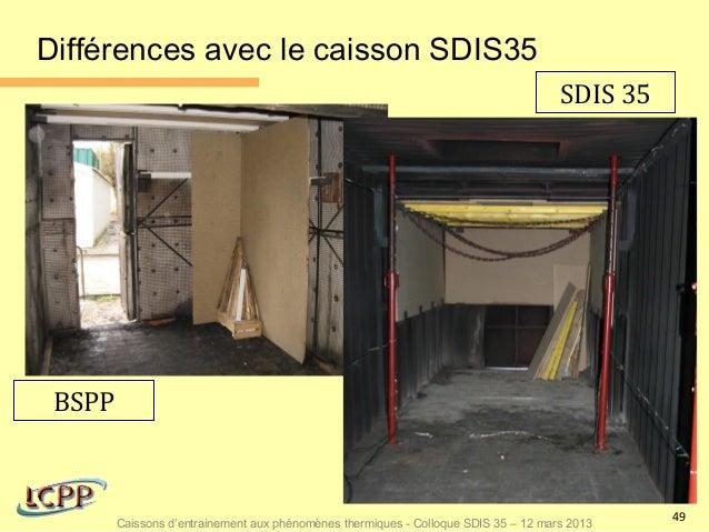 Différences avec le caisson SDIS35                                                                                     SDI...