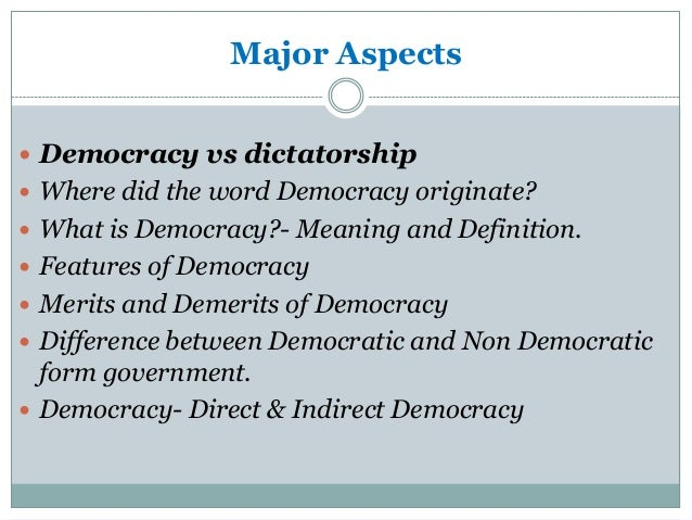 Essay direct indirect democracy