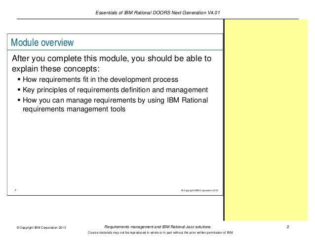 sc 1 st  SlideShare & Requirements management and IBM Rational Jazz solutions