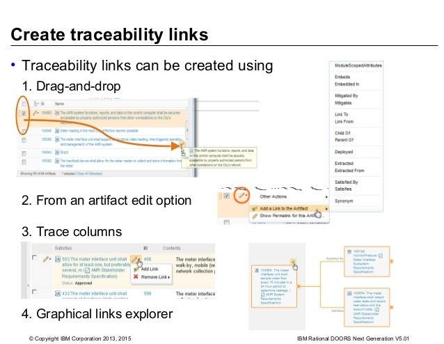 ... DOORS Next Generation V5.01; 21.  sc 1 st  SlideShare & Establishing and analyzing traceability between artifacts pezcame.com