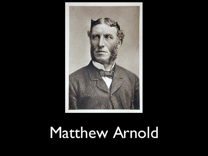 """Matthew Arnold's """"Culture and Anarchy"""""""