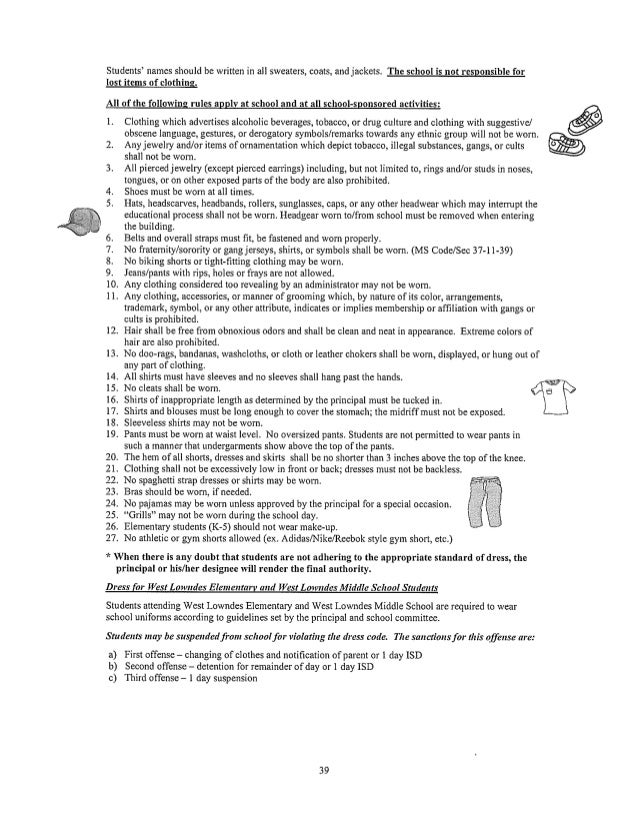 Lcsd dress code 2013 14