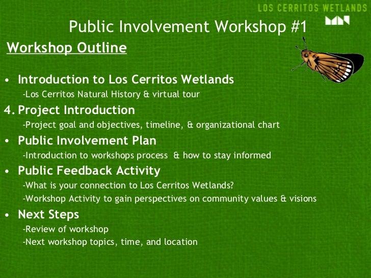 LCW Conceptual Restoration Workshop #1 Slide 3