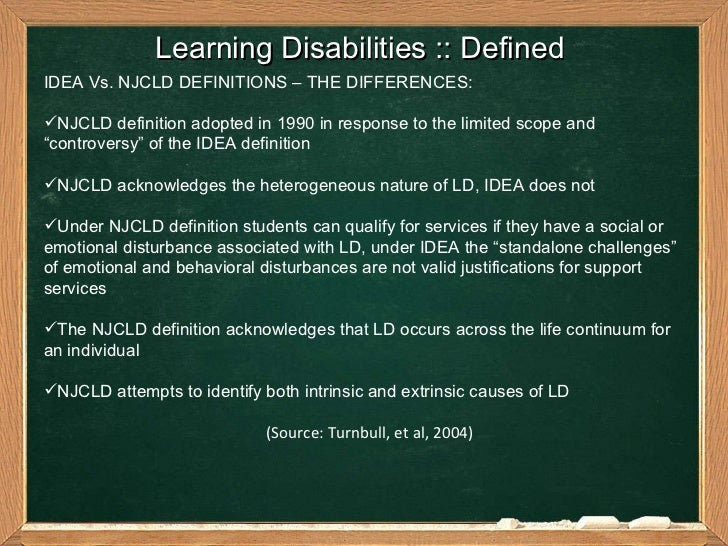 learning disabilities   an academic  u0026 personal perspective