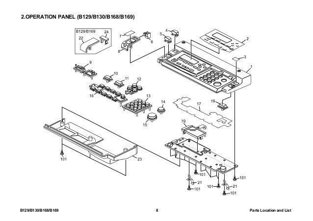 Ricoh 1515 Parts Manual