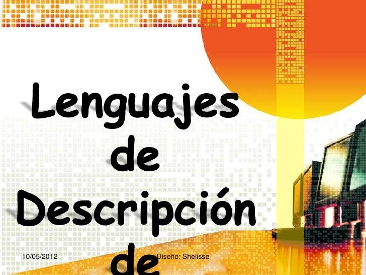 10/05/2012   Diseño: Shelisse   1