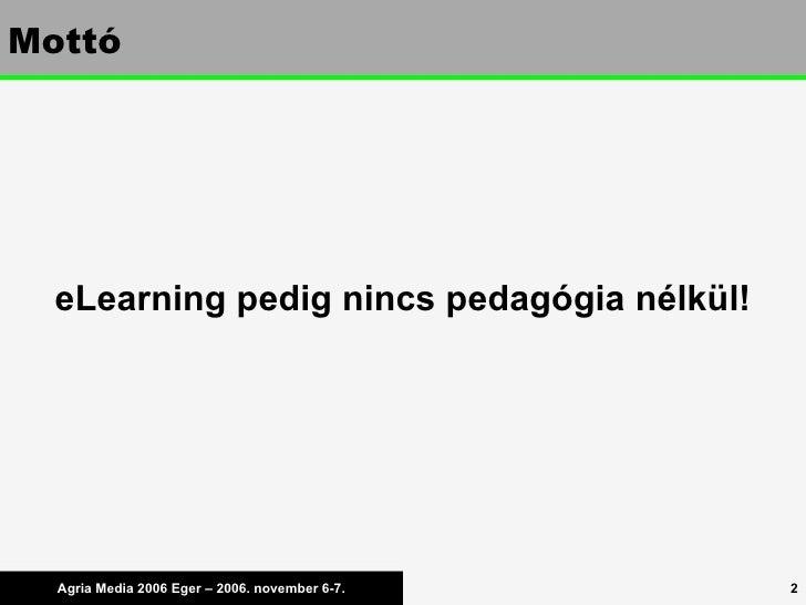 Learning Design a gyakorlatban Slide 2