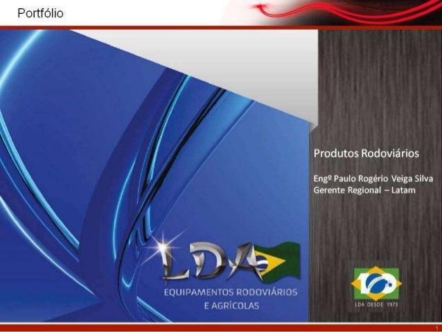 Company Page da LDA Equipamentos Rodoviários