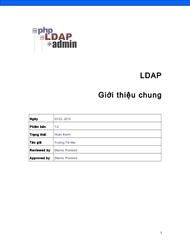Ldap introduce