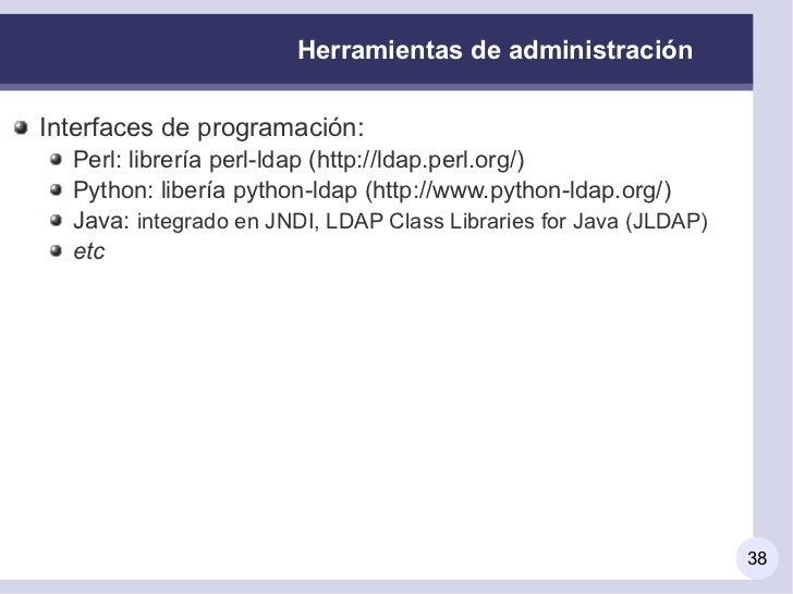 Autenticaci n remota y servicios de directorio ldap - Librerias python ...