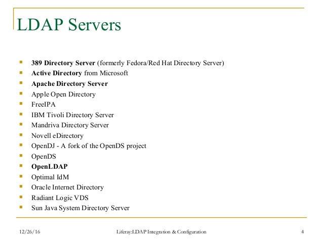 OpenLDAP Server