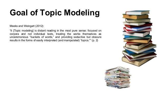 Topic Modeling for Learning Analytics Researchers LAK15 Tutorial Slide 14