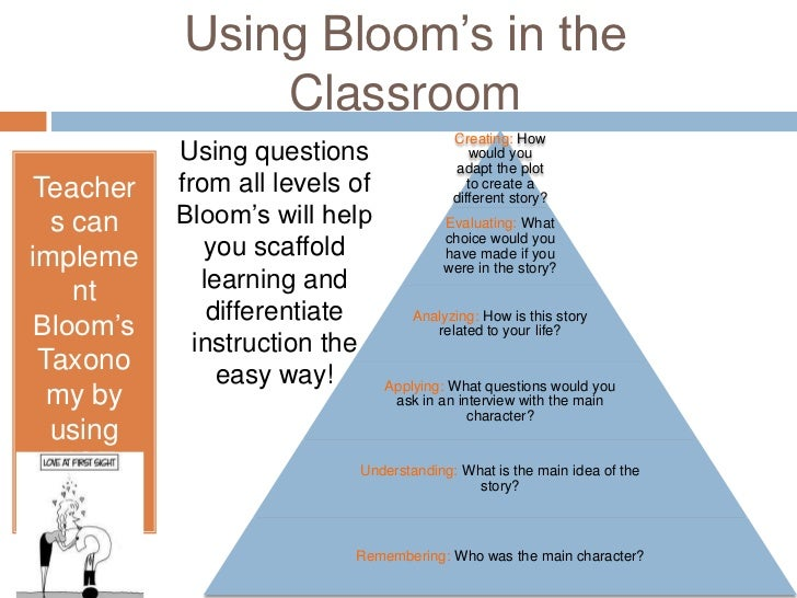 the characteristics of blooms taxonomy