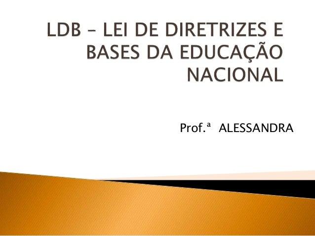 Prof.ª ALESSANDRA