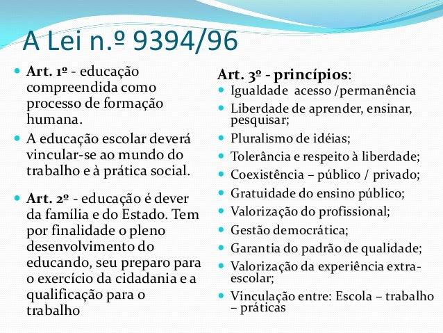LDB LEI FEDERAL NO 9394/96 EPUB