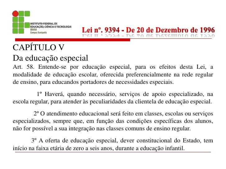 Ldb 9394 20 De Dezembro 1996 Lucas Matos E Souza Ifba 2009