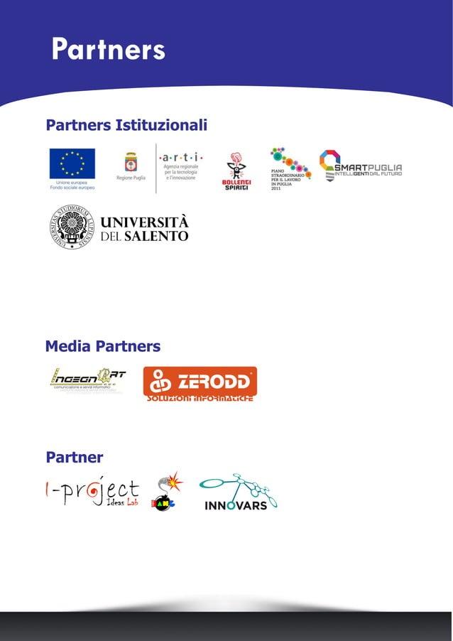 Media Partners Partners Istituzionali Partner Partners