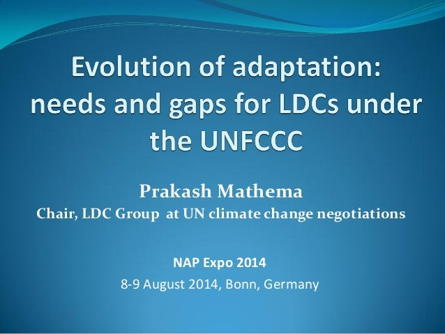 Prakash Mathema, LDC Group Chair: Keynote Speech, NAP Expo 2014