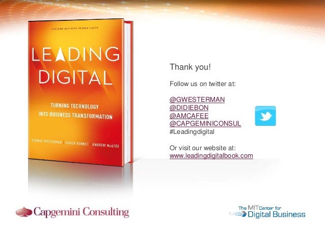 leading digital turning technology into business transformation pdf