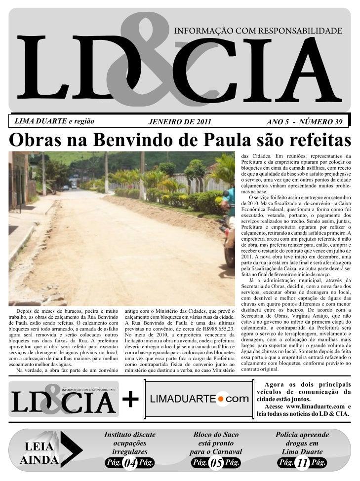 Edição nº 39 do Jornal Ld&cia2