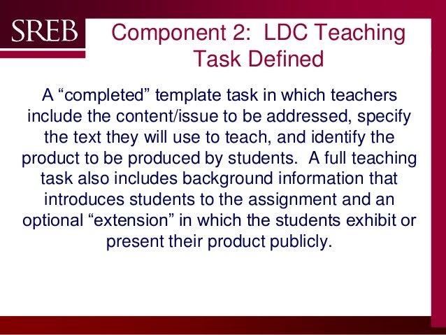teaching task 7 company logo component 1 ldc template task