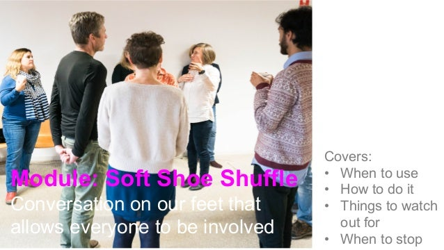 When to use it With large groups When you want to get rid of rank in the room Enables everyone to have a 'voice' even if t...