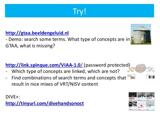 Linked Data for Audiovisual Archives (Guest lecture at NISV)