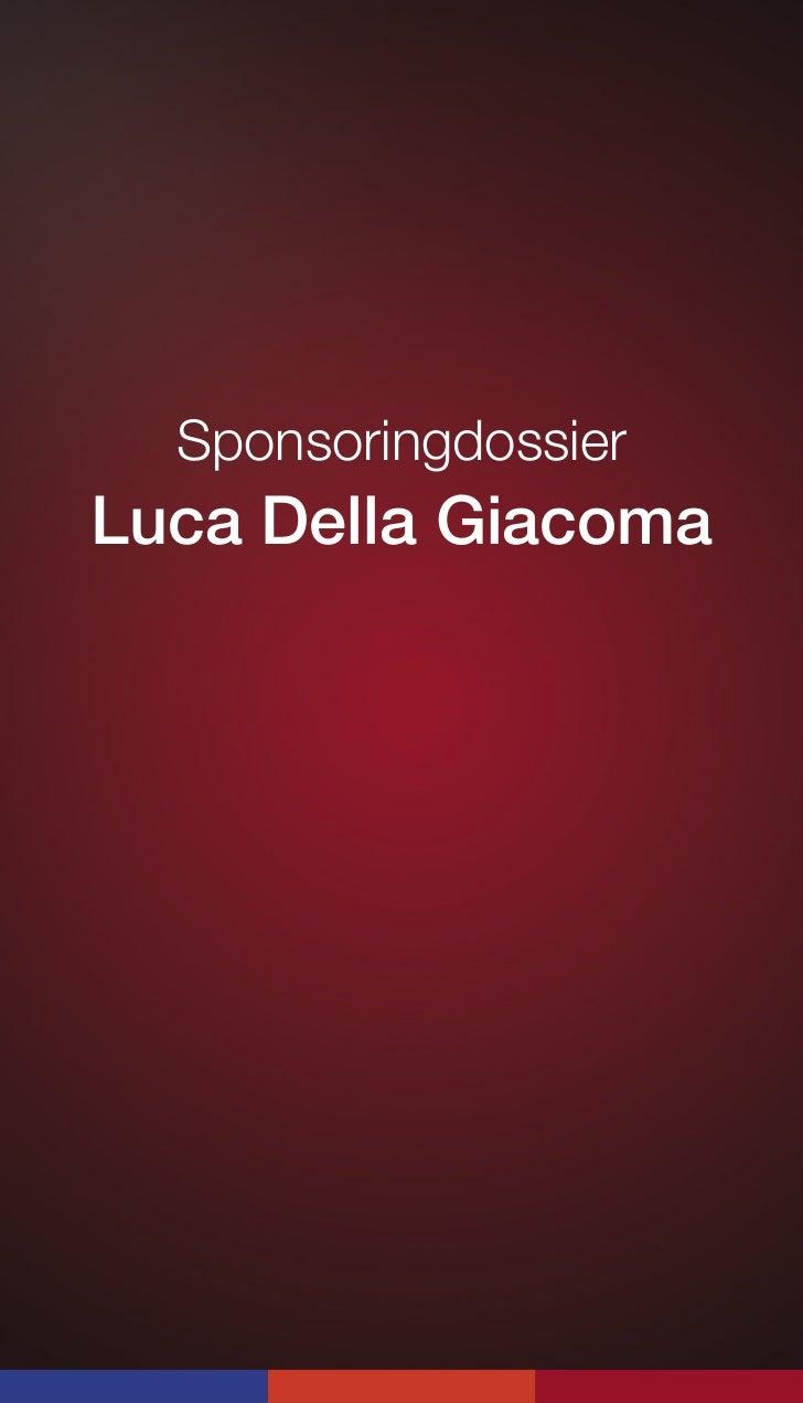SponsoringdossierLuca Della Giacoma