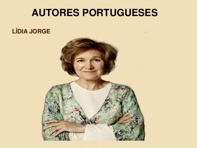 LÍDIA JORGE AUTORES PORTUGUESES