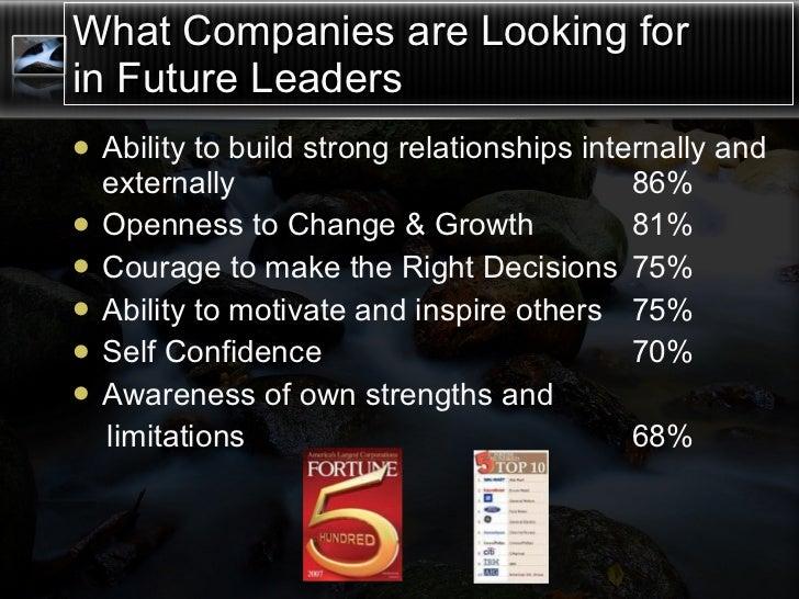 Leadership Development Intensive The Best of the Best Slide 3
