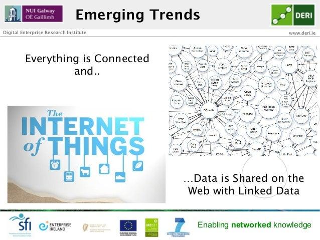 Emerging TrendsDigital Enterprise Research Institute                               www.deri.ie         Everything is Conne...