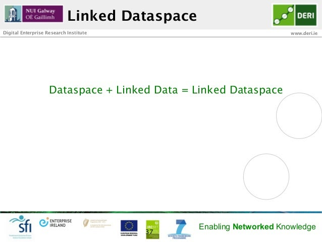 Linked DataspaceDigital Enterprise Research Institute                               www.deri.ie                    Dataspa...