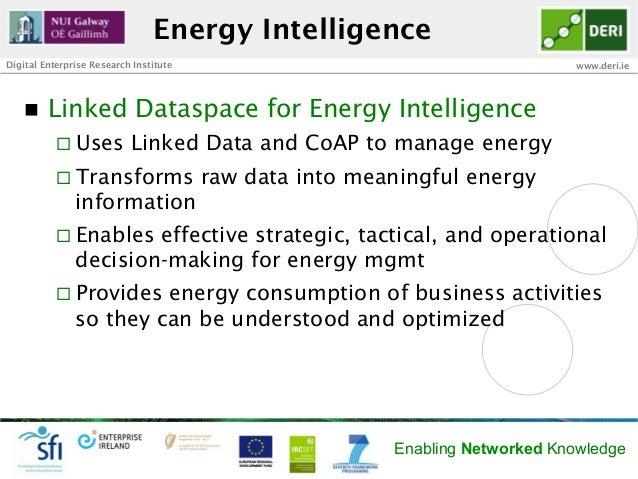 Energy IntelligenceDigital Enterprise Research Institute                                         www.deri.ie   n   Linke...