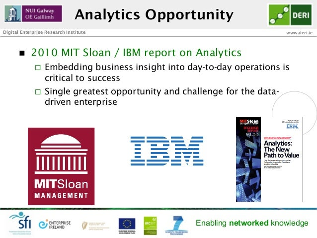 Analytics OpportunityDigital Enterprise Research Institute                                         www.deri.ie       n  ...