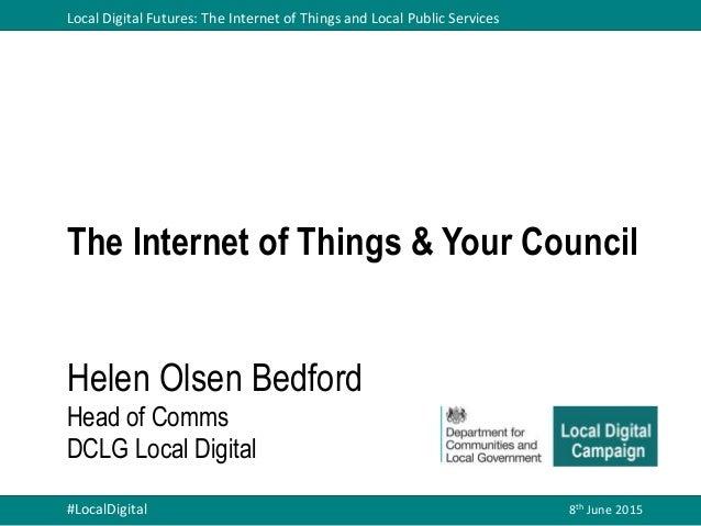 Headline IoT survey results and round up | Helen Olsen ...