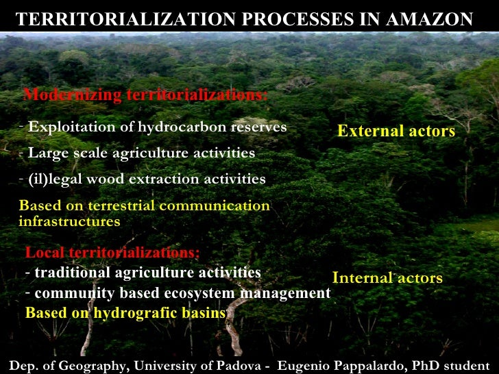 an analysis of the amazonian land reserves and the environmentalist causes Keywords: brazil, conservation, environment, land use, minas gerais, tradeable   we stress that this paper is not intended as an authoritative analysis for minas  gerais  is 80 percent in the forest-biome (eg, non-savanna) areas of the legal  amazon  for the biome-basin scenario, however, trading makes a difference.