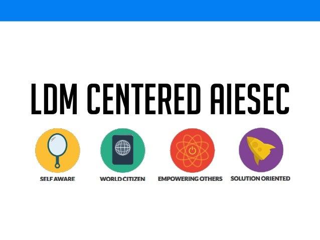 LDM Centered AIESEC
