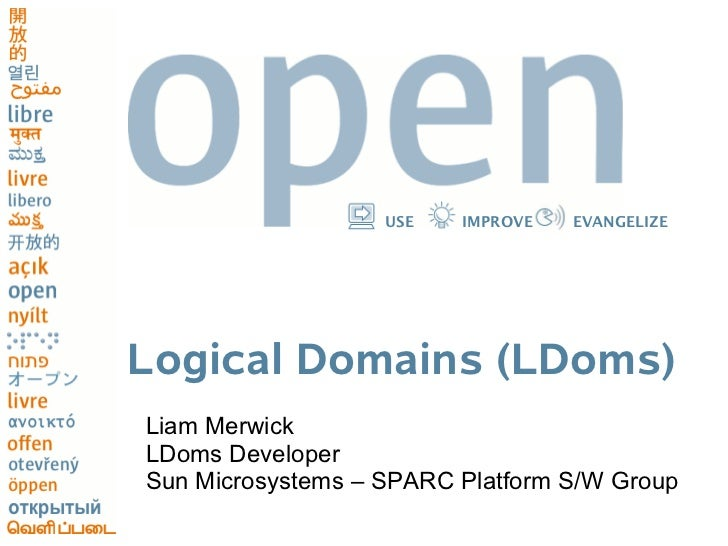 Logical Domains