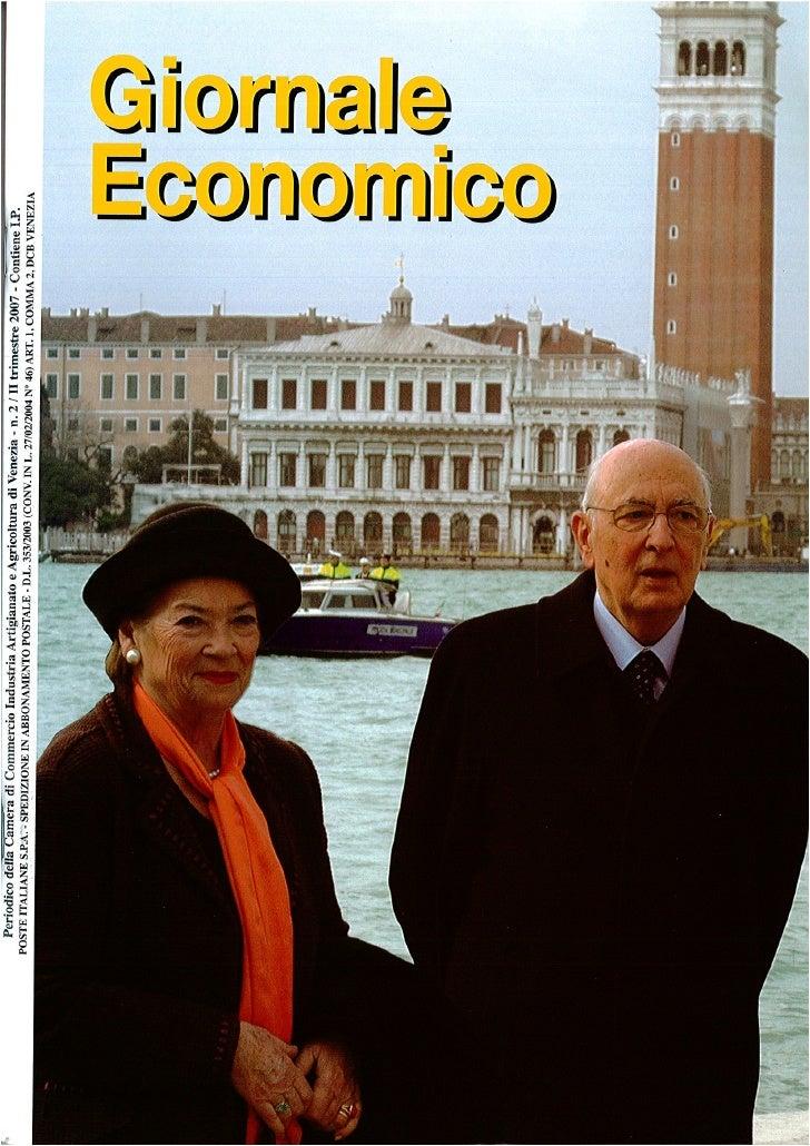 Leonardo di Paola Professore - Giornale economico